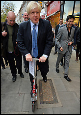 NOV 28 2013 Boris Johnson Campaigning in London