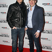 Rupert Evans and Jay Marino from Amazon Prime attend the European Premiere of Season 2 of The Man in the High Castle, available on Amazon Prime video Friday December 16 2016 at Curzon Bloomsbury on 14th December 2016, London,UK. Photo by See Li