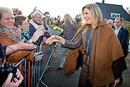 Queen Máxima visit on Thursday, November 6th Power Play in Warffum and propelled the Popschool in Ga