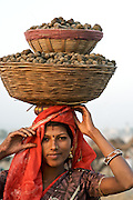 The Pushkar Camel Fair, the largest camel fair in the world, has been held on the full moon each October/November for centuries.  Thousands of camel traders come to one of India's most colorful events.<br />