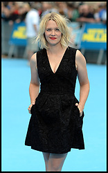 Edith Bowman arrives for the We're The Millers - European Film Premiere. Odeon, London, United Kingdom. Wednesday, 14th August 2013. Picture by Andrew Parsons / i-Images