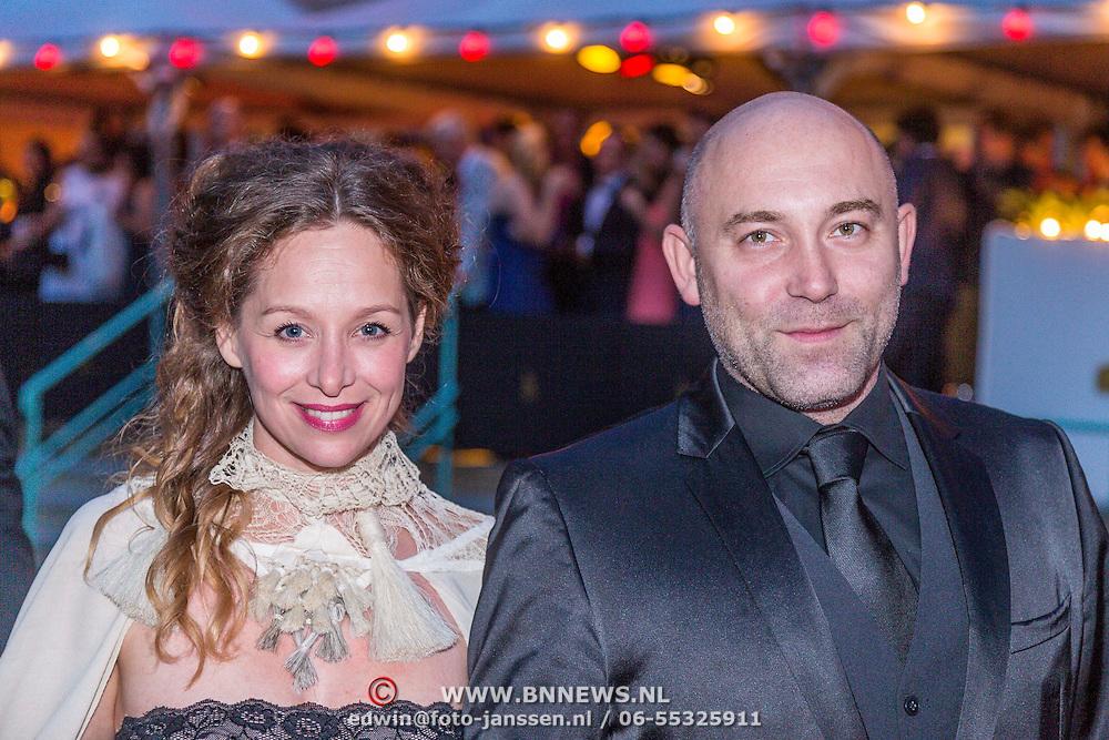 NLD/Utrecht/20130925 - Opening NFF 2012 - premiere Hoe Duur was de Suiker, Loek Peters en partner Ilse Heus