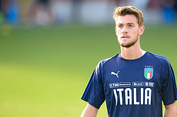 07.10.2017, Turin, ITA, FIFA WM 2018 Qualifikation, Italien, Gruppe G, Training Team Italien vor dem Spiel gegen Albanien, im Bild Daniele Rugani // Daniele Rugani during Training session of team Italy prior to the FIFA World Cup 2018, group G qualifying match between Albania and Italy. Turin, Italy on 2017/10/07. EXPA Pictures © 2017, PhotoCredit: EXPA/ laPresse/ Nicolò Campo<br /><br />*****ATTENTION - for AUT, SUI, CRO, SLO only*****