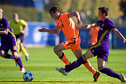 LENDAVA, SLOVENIA - Tuesday, October 17, 2017: Liverpool's Liam Millar during the UEFA Youth League Group E match between NK Maribor and Liverpool at Športni Park. (Pic by David Rawcliffe/Propaganda)