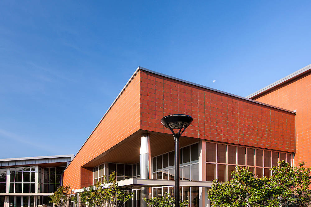 Architectural image of Rosedale Recreation Center in Washington DC by Jeffrey Sauers of Commercial Photographics