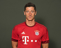 German Soccer Bundesliga 2015/16 - Photocall of FC Bayern Munich on 16 July 2015 in Munich, Germany: Robert Lewandowski
