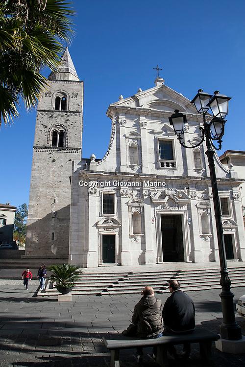 Melfi (PZ) Basilicata - Scorci di Melfi. La Cattedrale