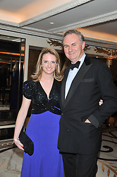 WILLIAM CASH and ANNA COUTTS-DONALD at the 22nd Cartier Racing Awards held at The Dorchester, Park Lane, London on 13th November 2012.