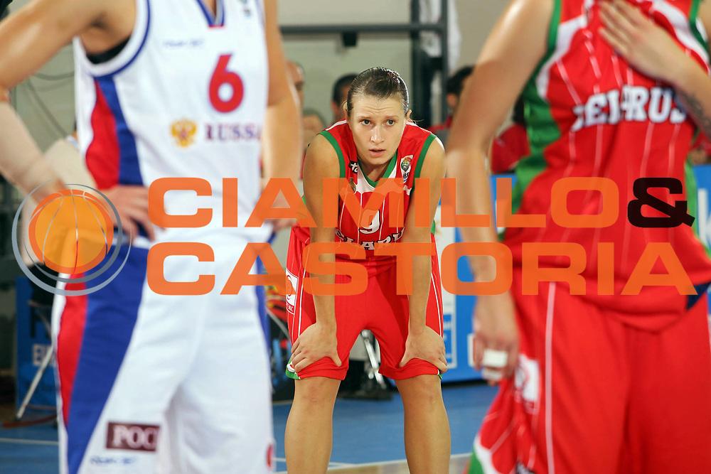 DESCRIZIONE : Ortona Italy Italia Eurobasket Women 2007 Russia Bielorussia Russia Belarus<br /> GIOCATORE : Natallia Anufryienka<br /> SQUADRA : Bielorussia Belarus<br /> EVENTO : Eurobasket Women 2007 Campionati Europei Donne 2007 <br /> GARA : Russia Bielorussia Russia Belarus<br /> DATA : 01/10/2007 <br /> CATEGORIA : Ritratto delusione<br /> SPORT : Pallacanestro <br /> AUTORE : Agenzia Ciamillo-Castoria/S.Silvestri <br /> Galleria : Eurobasket Women 2007 <br /> Fotonotizia : Ortona Italy Italia Eurobasket Women 2007 Russia Bielorussia Russia Belarus<br /> Predefinita :