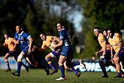 Ash Moeke of Otago makes a break during the Ranfurly Shield match between Otago and North Otago, held at Whitestone Contracting Stadium, Oamaru, New Zealand, 26 July 2019. Credit: Joe Allison / www.Photosport.nz