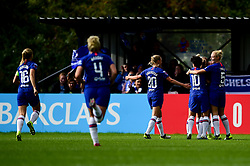 Chelsea celebrates scoring their sides first goal of the game - Mandatory by-line: Ryan Hiscott/JMP - 29/09/2019 - FOOTBALL - SGS College Stoke Gifford Stadium - Bristol, England - Bristol City Women v Chelsea Women - FA Women's Super League