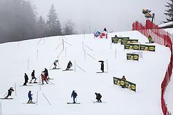 Skiers before the 1st Run of Men's Slalom - Pokal Vitranc 2013 of FIS Alpine Ski World Cup 2012/2013, on March 10, 2013 in Vitranc, Kranjska Gora, Slovenia.  (Photo By Matic Klansek Velej / Sportida.com)
