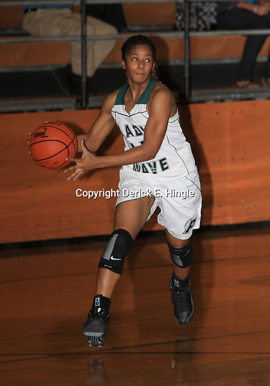23 January 2009:  Ponchatoula Green Wave basketball.