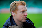 Bolton Wanderers manager Neil Lennon before the The FA Cup third round match between Eastleigh and Bolton Wanderers at Silverlake Stadium, Ten Acres, Eastleigh, United Kingdom on 9 January 2016. Photo by Graham Hunt.