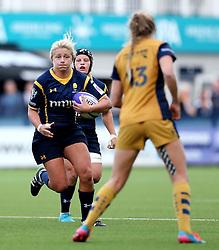 Alexia Mavroudis of Worcester Valkyries - Mandatory by-line: Robbie Stephenson/JMP - 24/09/2016 - RUGBY - Sixways - Worcester, England - Worcester Valkyries v Bristol Ladies Rugby - RFU Women's Premiership
