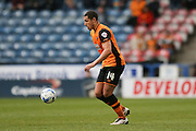 Hull City midfielder Jake Livermore (14)  during the Sky Bet Championship match between Huddersfield Town and Hull City at the John Smiths Stadium, Huddersfield, England on 9 April 2016. Photo by Simon Davies.