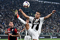 Cristiano Ronaldo of Juventus in action during the Serie A 2018/2019 football match between Juventus and Genoa CFC at Allianz Stadium, Turin, October, 20, 2018 <br />  Foto Andrea Staccioli / Insidefoto