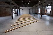 55th Art Biennale in Venice - The Encyclopedic Palace (Il Palazzo Enciclopedico).<br /> Arsenale.<br /> Walter De Maria (U.S.A.), &quot;Apollo's Ecstasy&quot;, 1990.