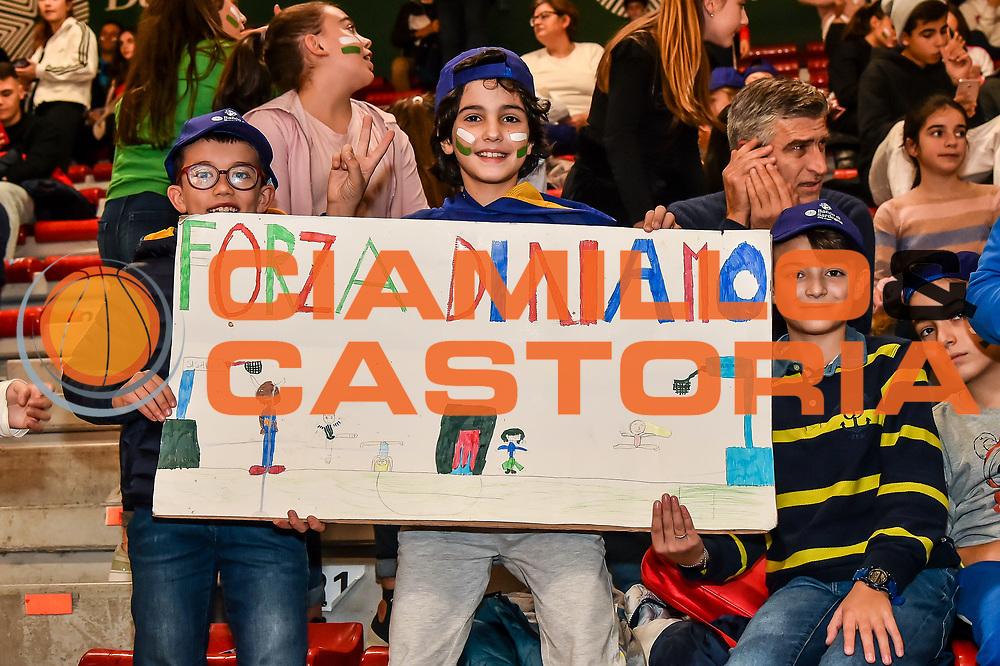 Tifosi Settore D Banco di Sardegna<br /> Banco di Sardegna Dinamo Sassari - Baxi Manresa<br /> FIBA Basketball Champions League BCL 2019-2020<br /> Sassari, 03/12/2019<br /> Foto L.Canu / Ciamillo-Castoria