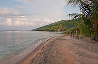 Beautiful tropical beach in Amed, Bali, Indonesia