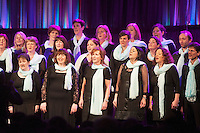 First ever Choir Factor in aid of Kilcuan Retreat and Healing Centre in Clarinbridge, Co. Galway . The event organised by the Corrib Lions Club was won by the Marine Institute Choir directed by Carmel Dooley. Picture:Andrew Downes