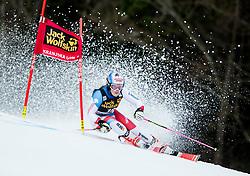 "Melanie Meillard (SUI) competes during 1st Run of the FIS Alpine Ski World Cup 2017/18 5th Ladies' Giant Slalom race named ""Golden Fox 2018"", on January 6, 2018 in Podkoren, Kranjska Gora, Slovenia. Photo by Ziga Zupan / Sportida"