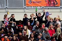 Bristol Flyers fans - Photo mandatory by-line: Ryan Hiscott/JMP - 15/11/2019 - BASKETBALL - SGS Wise Arena - Bristol, England - Bristol Flyers v London City Royals - British Basketball League Cup