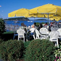 The Terrace Grill restaurant at the Bar Harbor Inn
