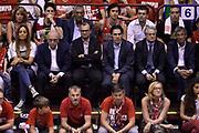 DESCRIZIONE : Campionato 2013/14 Finale Gara 7 Olimpia EA7 Emporio Armani Milano - Montepaschi Mens Sana Siena Scudetto<br /> GIOCATORE : Adriano Galliani Fernando Marino Valentino Renzi<br /> CATEGORIA : Tifosi VIP<br /> SQUADRA : Olimpia EA7 Emporio Armani Milano<br /> EVENTO : LegaBasket Serie A Beko Playoff 2013/2014<br /> GARA : Olimpia EA7 Emporio Armani Milano - Montepaschi Mens Sana Siena<br /> DATA : 27/06/2014<br /> SPORT : Pallacanestro <br /> AUTORE : Agenzia Ciamillo-Castoria /GiulioCiamillo<br /> Galleria : LegaBasket Serie A Beko Playoff 2013/2014<br /> FOTONOTIZIA : Campionato 2013/14 Finale GARA 7 Olimpia EA7 Emporio Armani Milano - Montepaschi Mens Sana Siena<br /> Predefinita :
