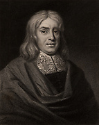 Thomas Sydenham (1624-1689) English physician born at Wynford Eagle, Dorset.  In his medical practice he separated Scarlatina from Measles, popularised the use of Jesuit's Bark (Cinchona) in the treatment of fevers, and revived the Hippocratic practice of