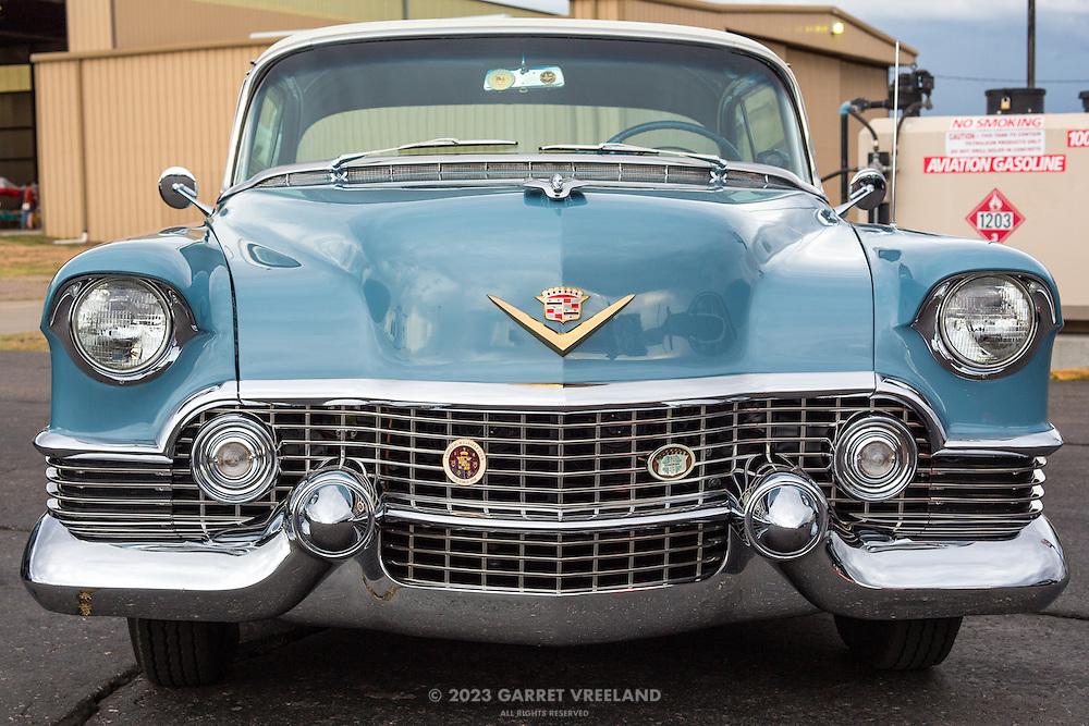 1954 Cadillac Coupe De Ville, front view.