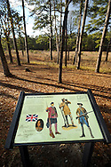 Moores Creek National Battlefield. Here,  Patriots won the first decisive battle of the American Revolution on February 27, 1776. 1000 Patriots halted 1600 Scottish Highlander Loyalists' attempt to join more British troops 20 miles southeast in Wilmington, NC. After this battle, British troops left the North Carolina coast and concentrated their efforts in the northern states until the end of the War when the Carolinas again became the scene of battles.