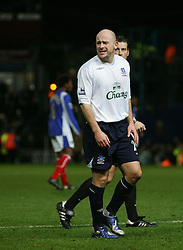 PORTSMOUTH, ENGLAND - SATURDAY, DECEMBER 9th, 2006: Lee Carsley of Everton have a bad day against Portsmouth during the Premiership match at Fratton Park. (Pic by Chris Ratcliffe/Propaganda)