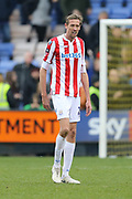 Stoke City forward Peter Crouch (25) during the The FA Cup 3rd round match between Shrewsbury Town and Stoke City at Greenhous Meadow, Shrewsbury, England on 5 January 2019.