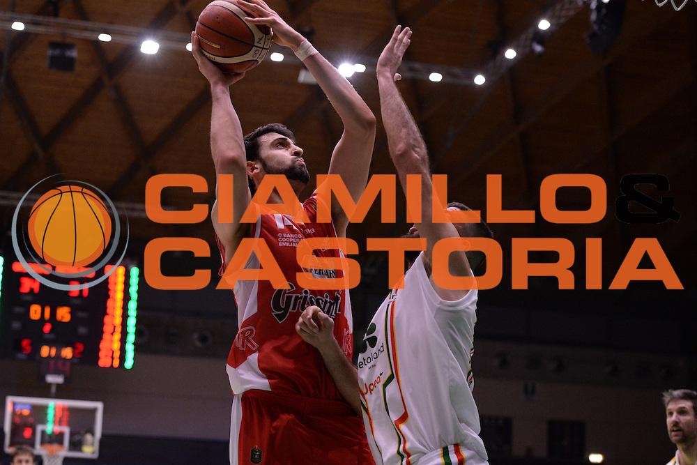 Cervi Riccardo<br /> Grissin Bon Reggio Emilia - Betaland Capo D'Orlando  <br /> Poste Mobile Final Eight F8 2017 <br /> Lega Basket 2016/2017<br /> Rimini, 16/02/2017<br /> Foto Ciamillo-Castoria/M.Longo