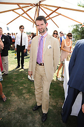 COUNT MANFREDIE DELLA GHERARDESCA at the Cartier International Polo at Guards Polo Club, Windsor Great Park on 27th July 2008.<br /> <br /> NON EXCLUSIVE - WORLD RIGHTS