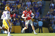 Ole Miss quarterback Bo Wallace (14) vs. LSU at Tiger Stadium in Baton Rouge, La. on Saturday, November 17, 2012.....