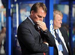Liverpool Manager, Brendan Rodgers - Photo mandatory by-line: Dougie Allward/JMP - Mobile: 07966 386802 - 19/10/2014 - SPORT - football - London - Loftus Road - QPR v Liverpool - Barclays Premier League