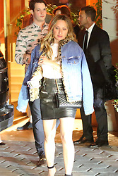 Jennifer Meyer is spotted leaving the Sunset Tower Hotel after attending Jennifer Aniston's 50th birthday party in West Hollywood. 10 Feb 2019 Pictured: Jennifer Meyer. Photo credit: MEGA TheMegaAgency.com +1 888 505 6342