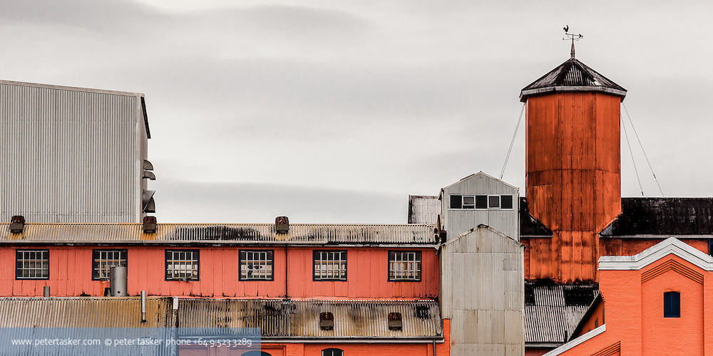 Chelsea Sugar Refinery, located in Aucklands inner harbour.