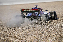 February 18, 2019 - Barcelona, Spain - RAIKKONEN Kimi (fin), Alfa Romeo Racing C38, going wide in the gravels during Formula 1 winter tests from February 18 to 21, 2019 at Barcelona, Spain - : FIA Formula One World Championship 2019, Test in Barcelona, (Credit Image: © Hoch Zwei via ZUMA Wire)