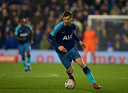 BIRKENHEAD, ENGLAND - Friday, January 4, 2019: Tottenham Hotspur's Fernando Llorente during the FA Cup 3rd Round match between Tranmere Rovers FC and Tottenham Hotspur FC at Prenton Park. (Pic by David Rawcliffe/Propaganda)