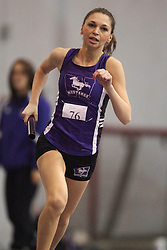 London, Ontario ---11-01-22---   Sarah Callahan of the Western Mustangs competes at the 2011 Don Wright meet at the University of Western Ontario, January 22, 2011..GEOFF ROBINS/Mundo Sport Images.