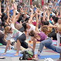 Wanderlust Yoga in the City