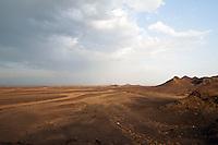 Landscape on the edge of Danakil Depression, Ethiopia.