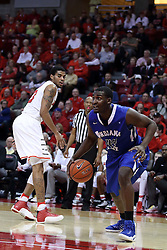 20 January 2017:  TJ Bell during an NCAA Missouri Valley Conference mens basketball game Where the Purple Aces of Evansville lost to the Illinois State Redbirds 75-73 in Redbird Arena, Normal IL