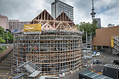 Auckland - Pop-Up Globe Theatre Construction
