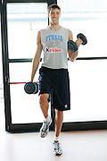 Bormio, 16/07/2006<br /> Basket, Nazionale Italiana Maschile Senior<br /> Allenamento in Palestra<br /> Nella foto: Angelo Gigli<br /> Foto Ciamillo