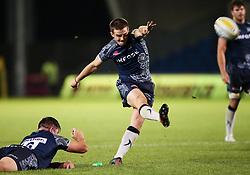 AJ MacGinty of Sale Sharks scores a conversion - Mandatory by-line: Matt McNulty/JMP - 08/09/2017 - RUGBY - AJ Bell Stadium - Sale, England - Sale Sharks v Newcastle Falcons - Aviva Premiership