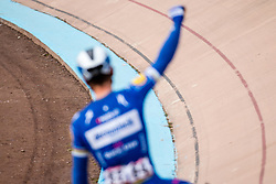 Philippe Gilbert (BEL) of Deceuninck - Quick Step (WT)  during the 2019 Paris-Roubaix (1.UWT) with 257 km racing from Compiègne to Roubaix, France. 14th april 2019. Picture: Pim Nijland | Peloton Photos  <br /> <br /> All photos usage must carry mandatory copyright credit (Peloton Photos | Pim Nijland)